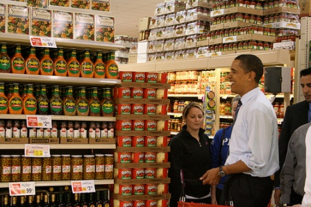 barack at shop rite